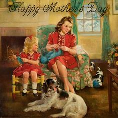 Vintage Happy Mothers Day Images, Messages For Our Grandmother