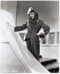 Claudette Colbert The Palm Beach Story (1942) / Paramount Pictures Directed By: Preston Sturges