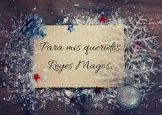 ¡Hoy vienen los Reyes!, cómo me gusta esa frase :) ¿has escrito ya tu carta? yo siempre lo hago y aprovecho para reforzar mis nuevos propósitos del año. Te lo cuento todo en mi blog de Instyle.