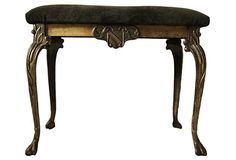 Victorian Bench for five hundred--idea for my dumpster rescue coffee table bottom