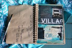 New York sketchbook by Mae Chevrette - Village Garage No. 1, 6x8 mixed media on paper #travel #journal