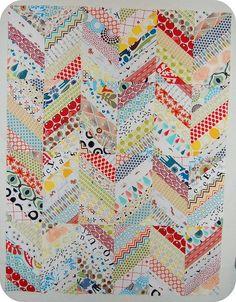 very vintage scrap quilt