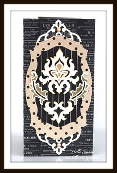 http://tiny.cc/SB-PreOrder  STRIKING! No? Designer Holly created this greeting using new Damask Accents and Damask Motifs... see the whole project here: http://tiny.cc/SB5-Holly