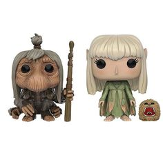 Gelflings, Mystics and Skeksis join the ranks of Funko POP! Vinyls with these cute figures based on the classic fantasy film The Dark Crystal . Choose your favorite character or collect them all - that crystal isn't going to heal itself!