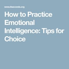 Want to know how to practice emotional intelligence? Here are 10 expert tips from our worldwide network to choose yourself more effectively. Emotional Development, Emotional Intelligence, Tips, Advice