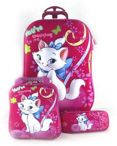 Kids Suitcases, Lunch Box, Pencil Case