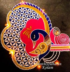 Discover the most beautiful collection of rangoli designs for Diwali. Explore unique and colorful rangoli design ideas and images for the upcoming festival. Rangoli Designs Peacock, Rangoli Designs Latest, Latest Rangoli, Simple Rangoli Designs Images, Small Rangoli Design, Rangoli Designs Diwali, Diwali Rangoli, Rangoli Designs With Dots, Beautiful Rangoli Designs