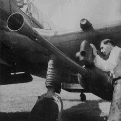 "Junkers Ju-87G-2 Stuka retrofitted with two gun pods with 37mm anti-tank guns ""Gustav the tank killer"""