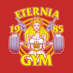 Check out this awesome 'She-Ra+Eternia+Gym' design on @TeePublic!