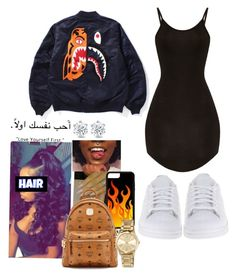 """""""Rendezvous ~ PartyNextDoor"""" by lanadabest on Polyvore featuring adidas Originals, MCM and MICHAEL Michael Kors"""