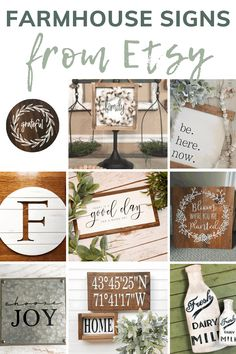 Are you in love with farmhouse signs? Get inspired with these farmhouse signs from Etsy! #signs #etsy #inspiration #walldecor #farmhousestyle Farmhouse Signs, Farmhouse Style, Guest Bedroom Decor, Manzanita, Fixer Upper, Interior Decorating, Wall Decor, Inspired, Etsy