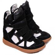 White Black Suede with High-top Isabel Marant Sneakers at http://www.isabelmarantboots.org.uk.