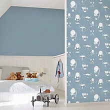 Galerie Jack n Rose Junior Vintage Balloons Wallpaper, Rose Wallpaper, Kids Wallpaper, Wallpaper Online, Balloon Wall, Balloons, Upstairs Bedroom, Balloon Decorations, Color Azul, Home Furnishings