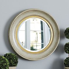 Our Monique Mirror frames soft, heavily rubbed color in deep, coved molding trimmed in antique gold for a rich vintage look. Monique Mirror features: Perfect above a fireplace or consolePolyurethane