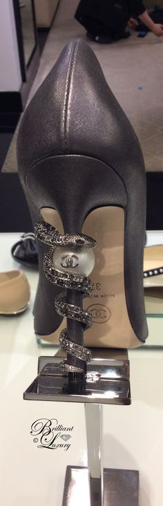 Brilliant Luxury by Emmy DE * Chanel heels