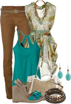 Polyvore Summer Outfits