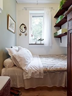 Very Tiny Bedroom Ideas small bedroom ideas lighting is the key. also, the link doesn't