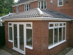 Photos of our work. Contact us for a free, no obligation quote, sales@nationalwindowsystems.co.uk or 01325 381630 ( Solid Roof / Garden Room / Sun Room / Extension / Conservatory / Tiled Roof / Windows / Doors / French Doors / Guardian Roof / Warm Roof / Velux Windows ) Edwardian Conservatory, Tiled Conservatory Roof, Conservatory Extension, Conservatory Design, Brick Extension, House Extension Plans, House Extension Design, House Design, Extension Ideas