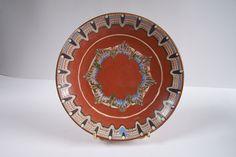 Assiette  poterie de Troyan vintage Art bulgare de la boutique MyFrenchIdeedAntique sur Etsy