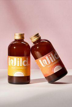 Get Wild With Wild Kombucha's Funky Packaging