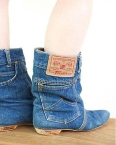 If you are about to throw away a old pair of jeans why not recycle them and turn them into one of my best uses for an old pair of jeans instead.