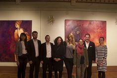 The opening of Colours of Life exhibition at Cantacuzino Castel, Bușteni — with Andreea Floreanu, Radu Rodideal, Alexandru Cazanaru, Oana Ionel, Bianca Ioniță, Thomas Emmerling and Alexandra Tataru at Castelul Cantacuzino. Color Of Life, Exhibitions, Colours, Painting, Art, Art Background, Painting Art, Paintings, Kunst