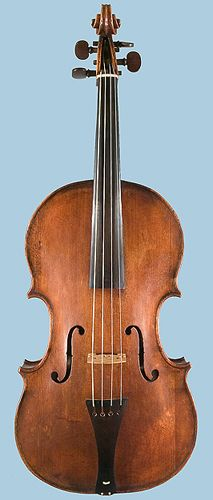 Tenor viola by Andrea Guarneri, Cremona, 1664 One of only three Cremonese instruments known to have survived in original condition
