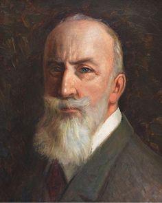 Self-Portrait of The Last Caliph Abdulmecid Efendi(Turkish 1868-1944)