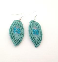 orecchini verde acqua 2