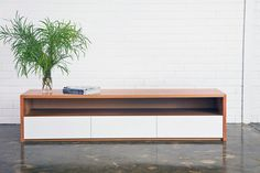 Entertainment unit.   Recycled Timber Furniture by Bespoke Furniture Melbourne