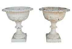 Victorian Garden Urns