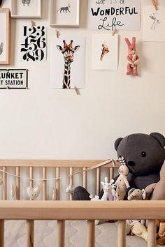 Unique Baby Boy Nursery Room Animal Design – Home Decor Ideas Baby Bedroom, Nursery Room, Boy Room, Girl Nursery, Kids Bedroom, Nursery Decor, Animal Nursery, Bedroom Wall, Nursery Ideas