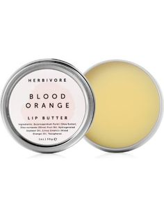 Herbivore Botanicals - All Natural Lip Butters (Blood Orange) ❤ Herbivore Botanicals