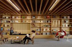 Bohlin Cywinski Jackson; Square Headquarters (Interior Design); San Francisco, California, 2013.