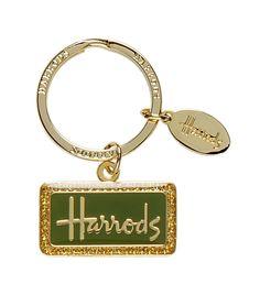 Harrods Logo Keyring from Harrods