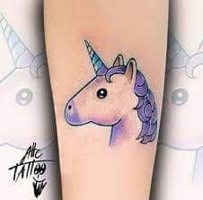 Emoji Tattoos 22 Emoji Tattoo Unicorn Tattoos Matching Bff Tattoos