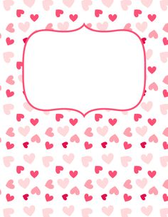 Pink Heart Binder Cover and many more too, Including a puzzle piece one! Notebook Cover Design, Diy Notebook, Notebook Covers, Journal Covers, Planner Pages, Printable Planner, Planner Stickers, Free Printables, Planner Covers