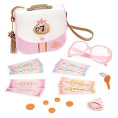 Disney Princess Travel Purse Set Disney Princess Toys, New Disney Princesses, Disney Toys, Disney Barbie Dolls, Little Girl Toys, Toys For Girls, Kids Toys, Baby Doll Accessories, Fashion Accessories
