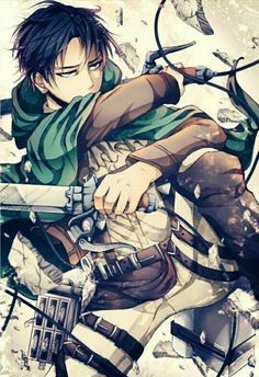 Day 3- fav male character. I know I know it says one but I can't chose between these two. So my other fav character is Levi from attack on Titan!!!