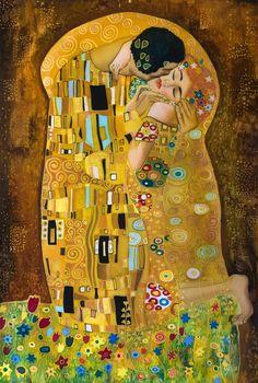Klimt Kiss Stylized   chris brown and rihanna vma kiss 2012 , degenerative disk disease ...