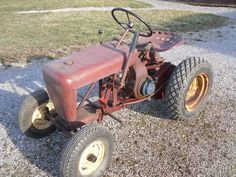 1957 RJ35  Last ran about two years ago Has correct engine , air filter and reverse disc . Original tires one has rip in sidewall belt guard has hole cut some original paint hood has primer with filler in it  $1000.