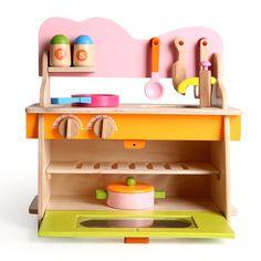 cozinha conjunto de madeira de madeira infantil brinquedo fogão cooktop gás pequeno toyfree transporte em Cozinhas de brinquedo de Brinquedos & Lazer no AliExpress.com | Alibaba Group