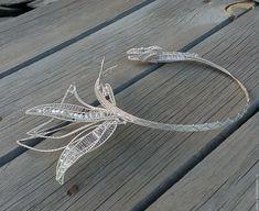 Колье Дракон wire wrap – купить в интернет-магазине на Ярмарке Мастеров с доставкой