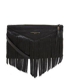Liebeskind Carol Fringe CrossBody Bag #Dillards