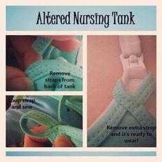 Altered nursing tank