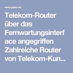 Telekom-Router über das Fernwartungsinterface angegriffen  Zahlreiche Router von Telekom-Kunden sind offenbar Teil eines Botnetzes geworden, das den Code von Mirai nutzt. Grund dafür ist eine Sicherheitslücke in der Implementierung der Fernwartungsprotokolle TR-069 und TR-064.  Kunden der Telekom mussten gestern mit einigen Ausfällen kämpfen. Inzwischen sind einige Hintergründe bekannt. Verantwortlich ist wohl ein Botnetz, das auf dem Code von Mirai basiert. Die Mirai-Schadsoftware wird…