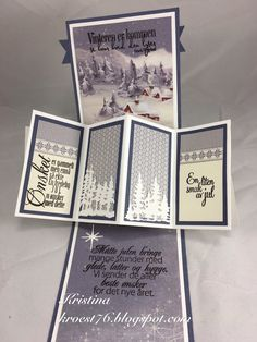 Pion Design, North Star Design, North Star Stamps, Twist pop-up card