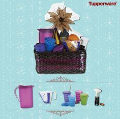 A great Tupperware Gift Basket idea! My.tupperware.com/jjefferson