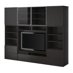 Something like this but with sliding doors to hide TV for the wall in the Living Room/Dining Room $599