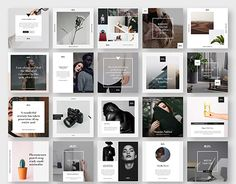 designeour: Stylish Social Media Pack by GoaShape >> Go. Social Media Branding, Social Media Banner, Social Media Template, Social Media Design, Social Media Graphics, Social Media Marketing, Business Marketing, Social Media Posts, Social Media Art